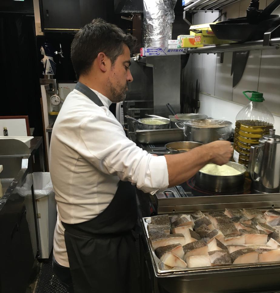 スペイン・バスク地方から招かれた男たち @スペイン料理アロス