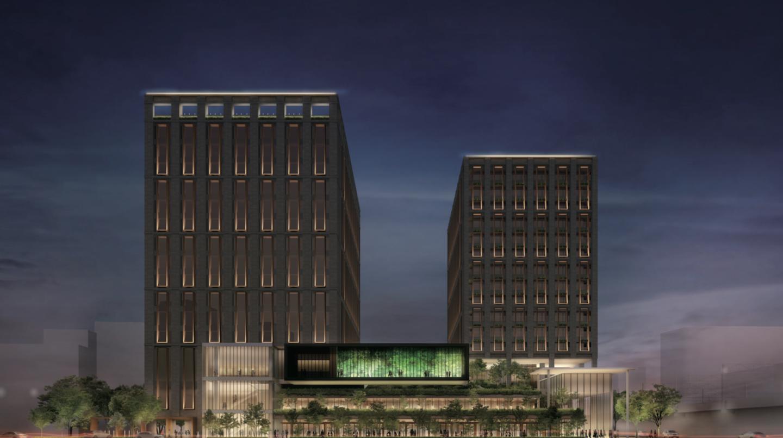 金沢駅に外資系高級ホテル「ハイアット」ができるんだって!
