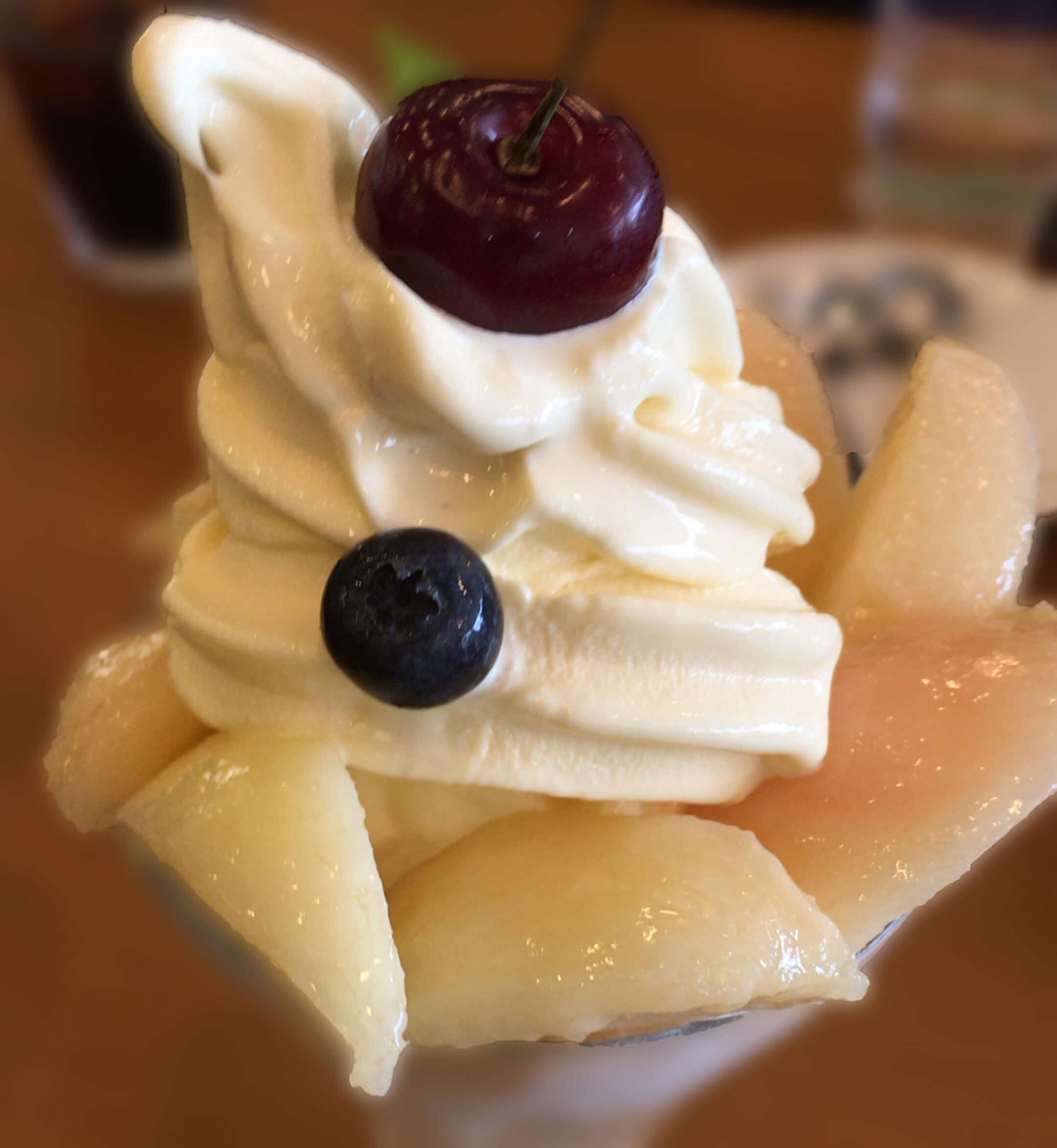 7月限定!ひと味違う水蜜桃たっぷりのパフェをゲットせよ! @フルーツパーラーむらはた