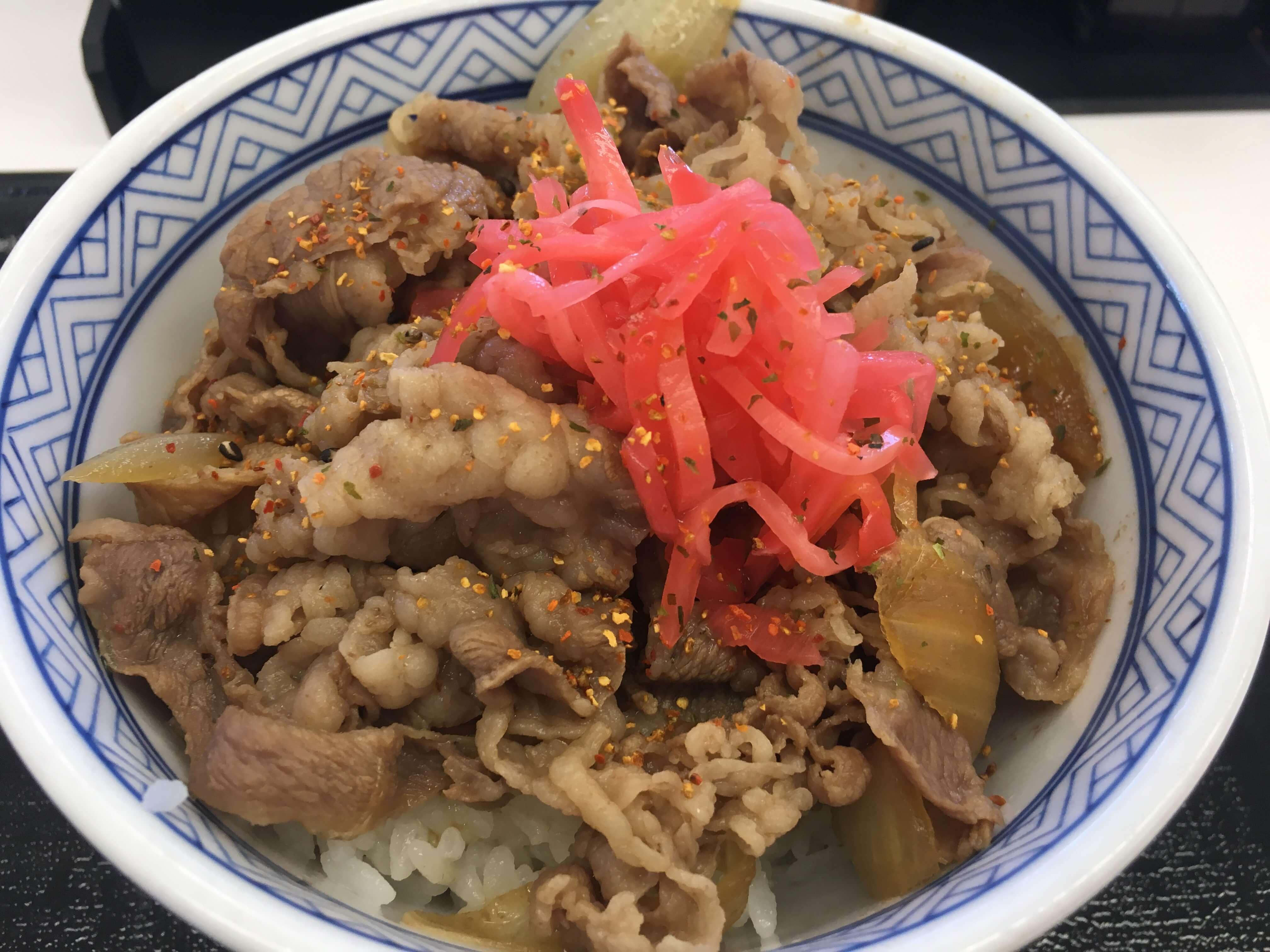 太っ腹 !! ソフトバンクユーザー限定 !! 今週も「吉野家」で牛丼食べちゃおう !!