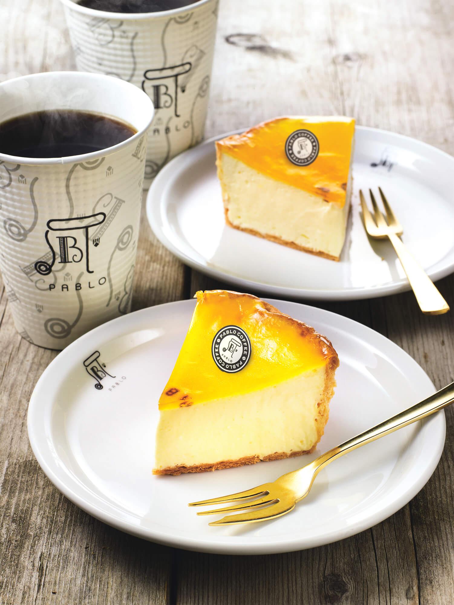 『 焼きたてチーズタルト専門店 PABLO もりの里店 』 チーズタルトミディアム+コーヒー セット プレゼント!!