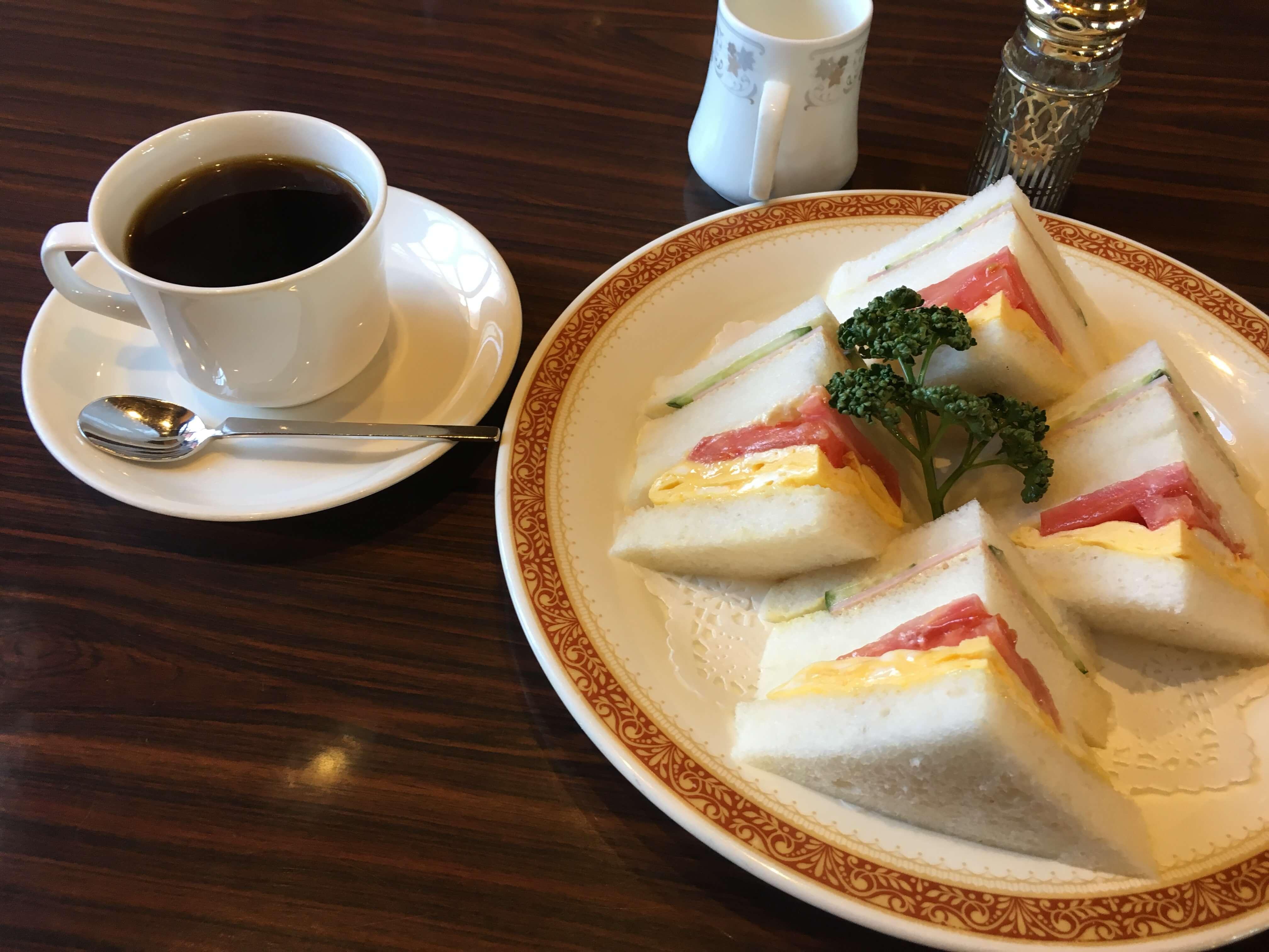 有松にある純喫茶『 ノバール 』で喧騒から抜け出しコーヒータイム