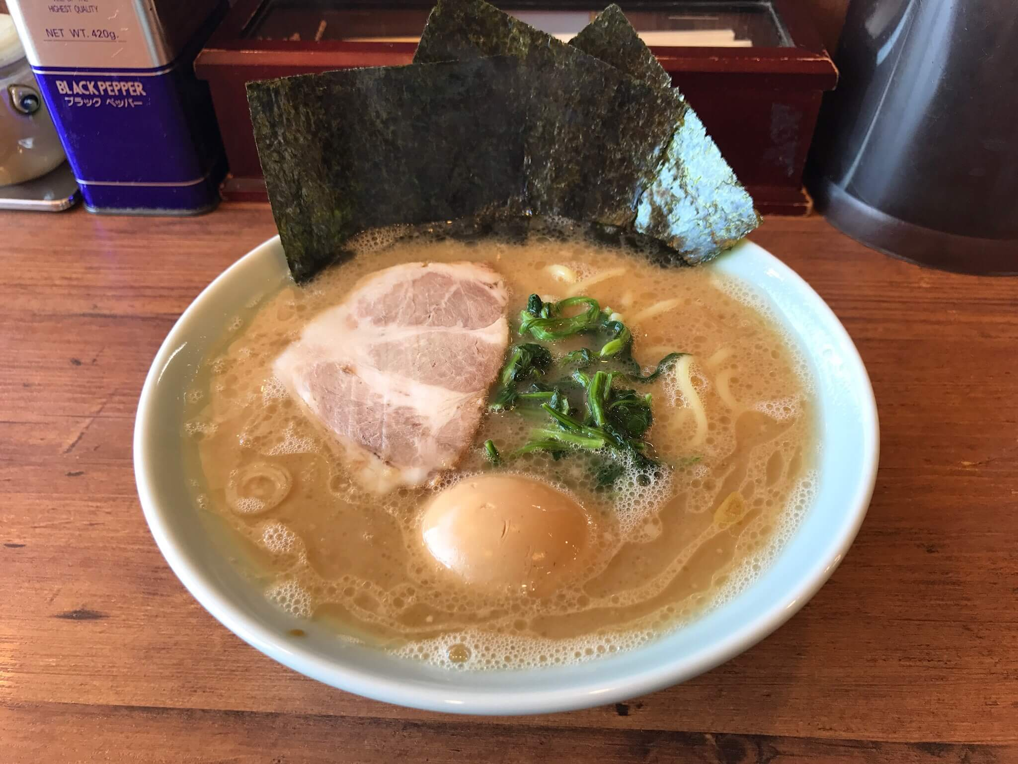 スープうまっ!!横濱発祥 家系ラーメン 『 元喜屋 』