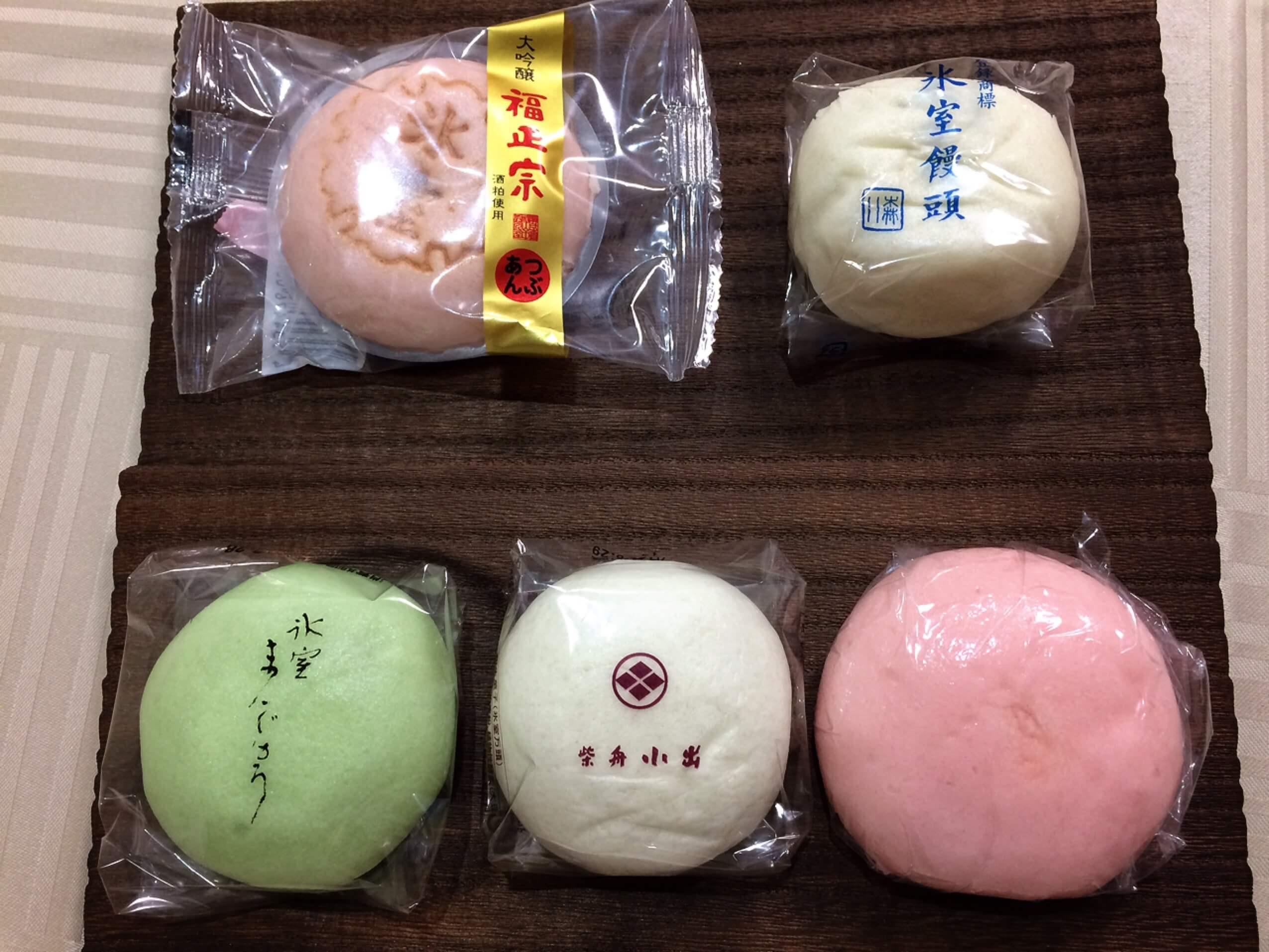 """金沢の夏を告げる 赤・白・青の""""氷室饅頭"""""""