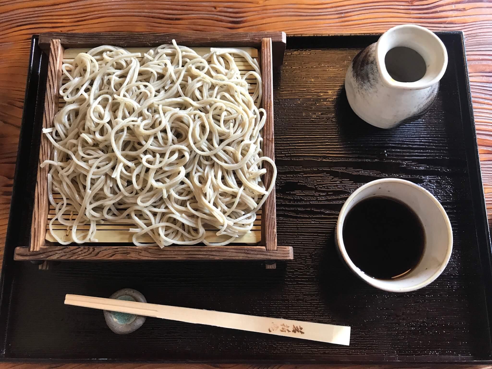 「 茗荷庵 」羽咋市神子原で見つけた蕎麦屋さんで、喉ごし上等の絶品「ざるそば」に出会った