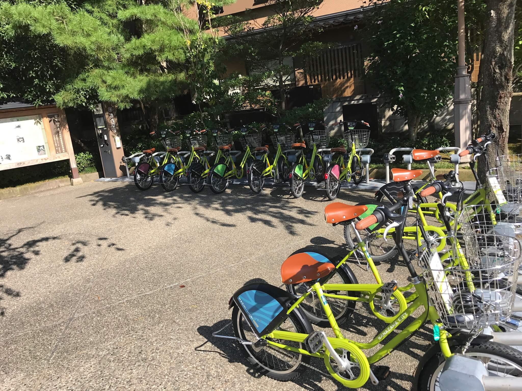 """Recommended for Kanazawa sightseeing !! Rental cycle """" Machinori """" complete introduction"""