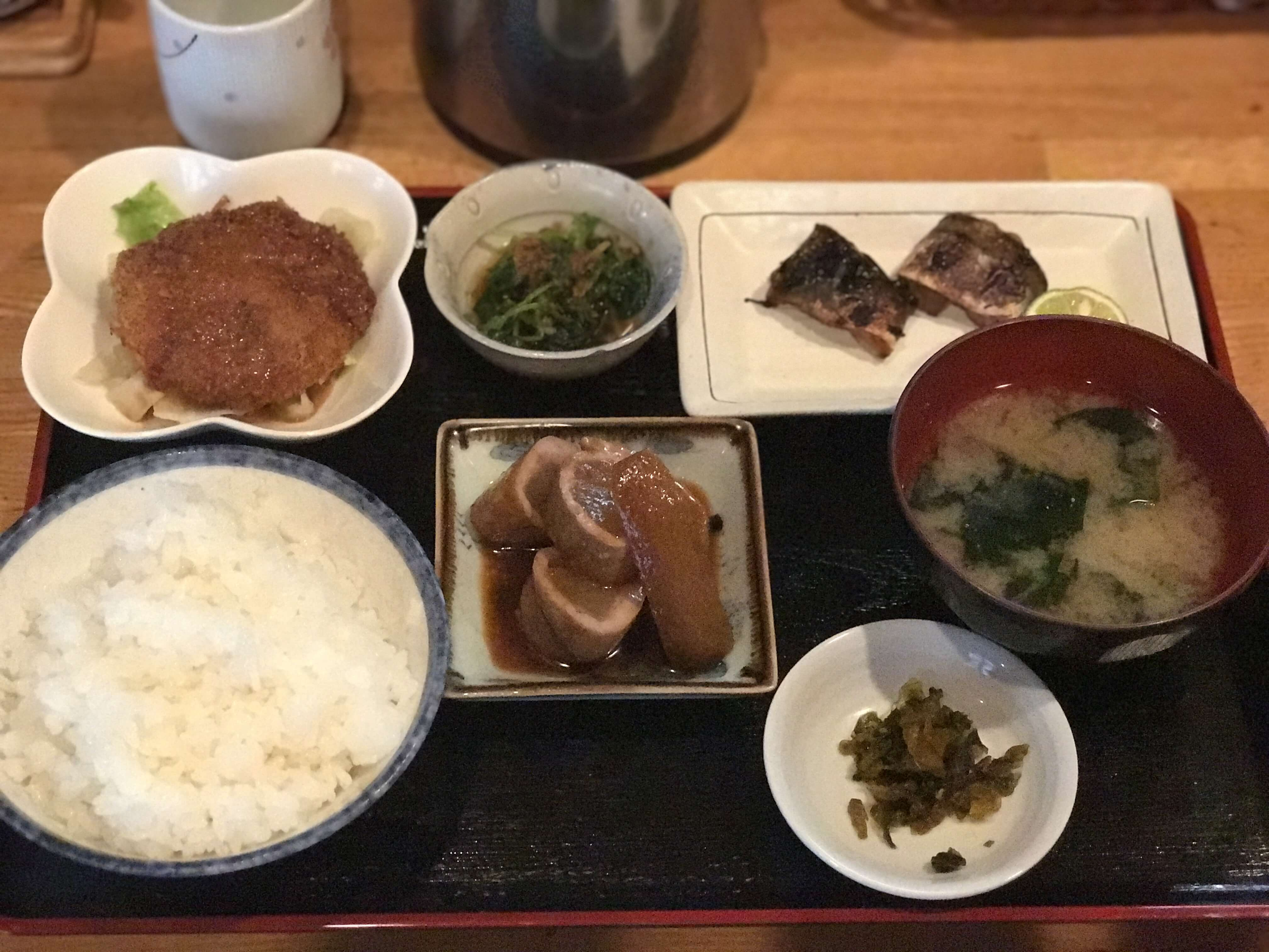 『 駄々』野々市で見つけたボリューム満点750円定食!!