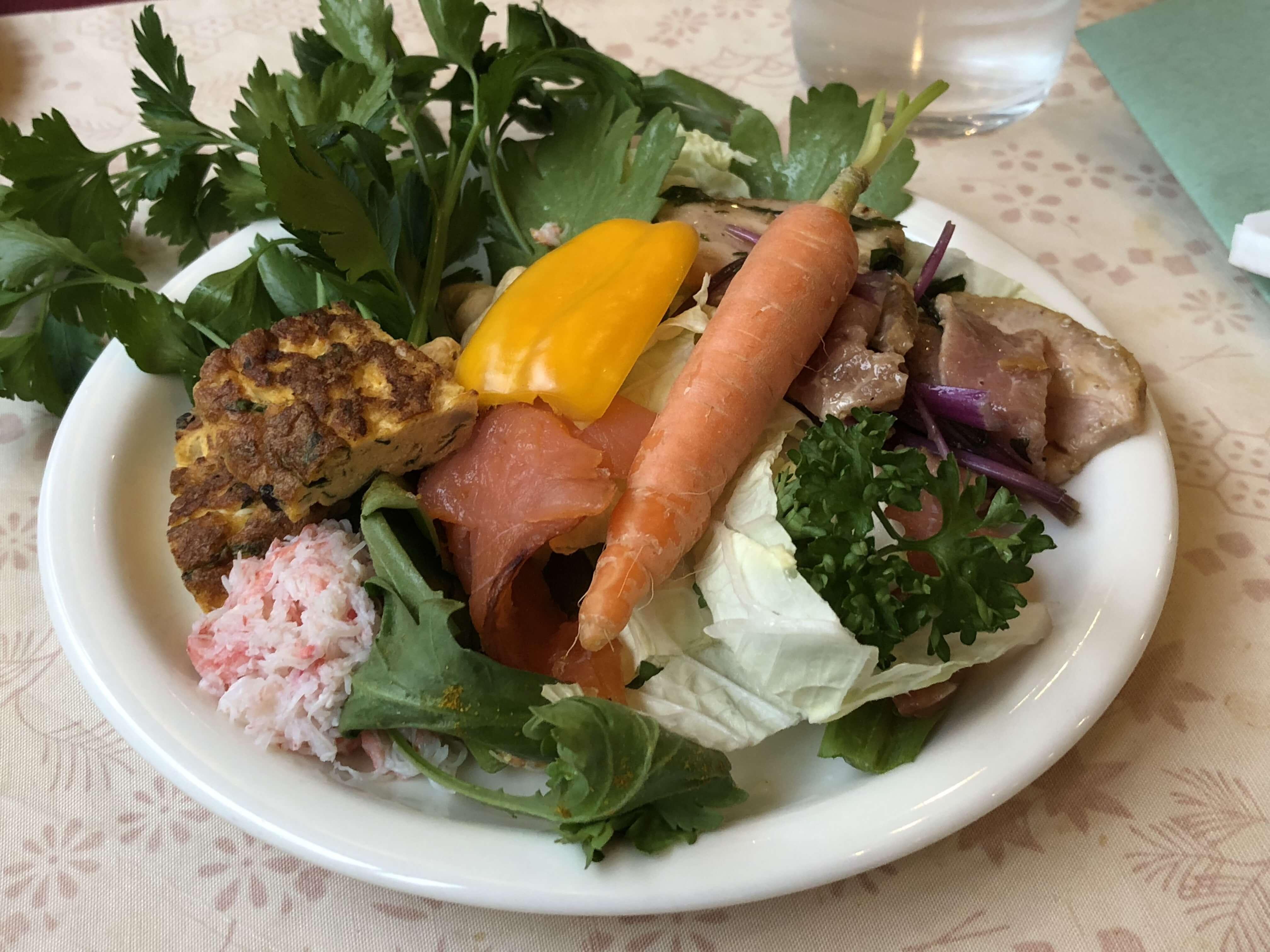 「Au milieu de la vie(オー ミリュー ドゥ ラ ヴィ)」高尾台で見つけた野菜が主役のフレンチのお店