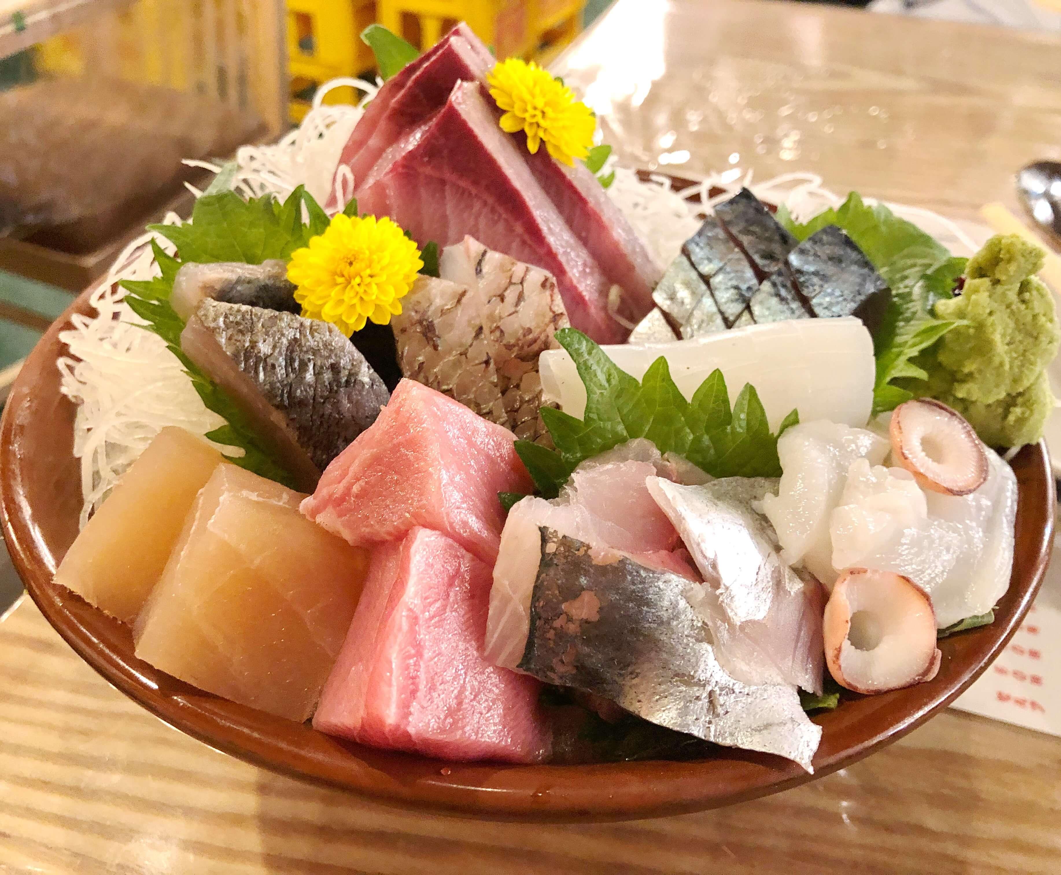 「川端鮮魚店 本店」木倉町で刺身を心行くまで食べるならここ!!