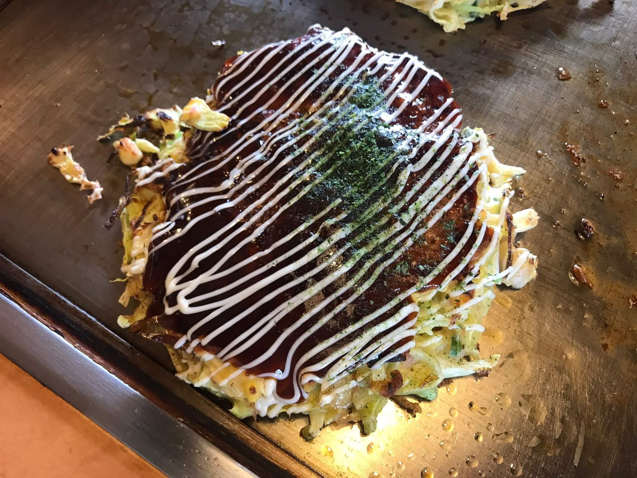 「お好み焼き 古川」お手頃価格でお腹いっぱいランチ