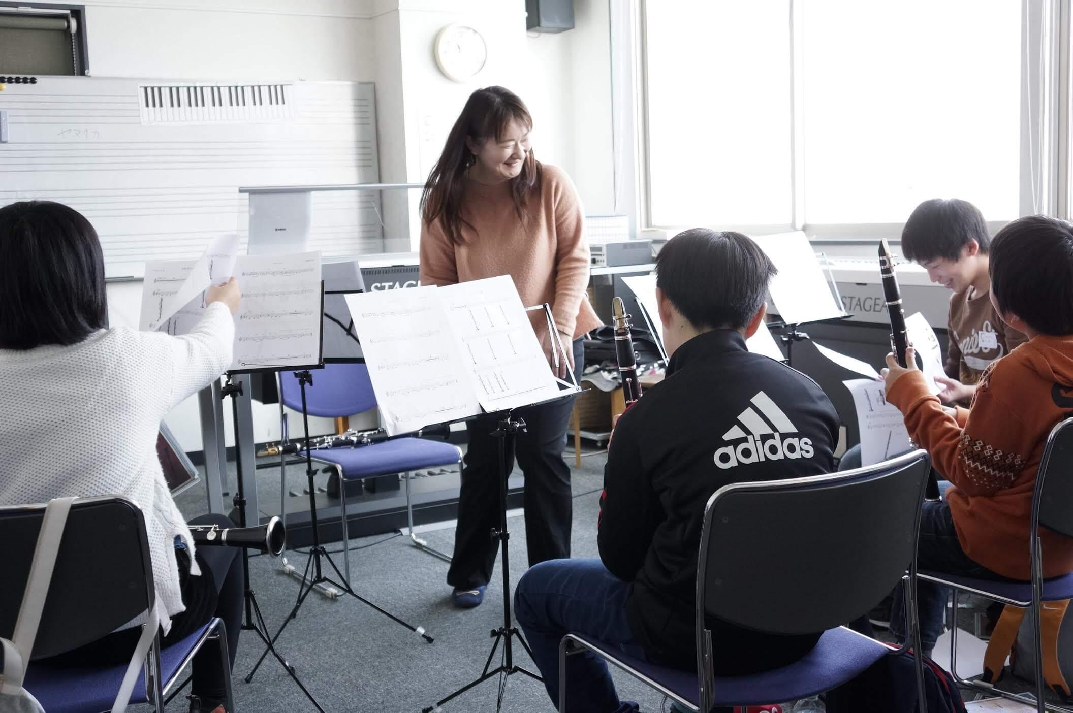 「わくわくアンサンブル体験」でこの春管楽器デビュー?!