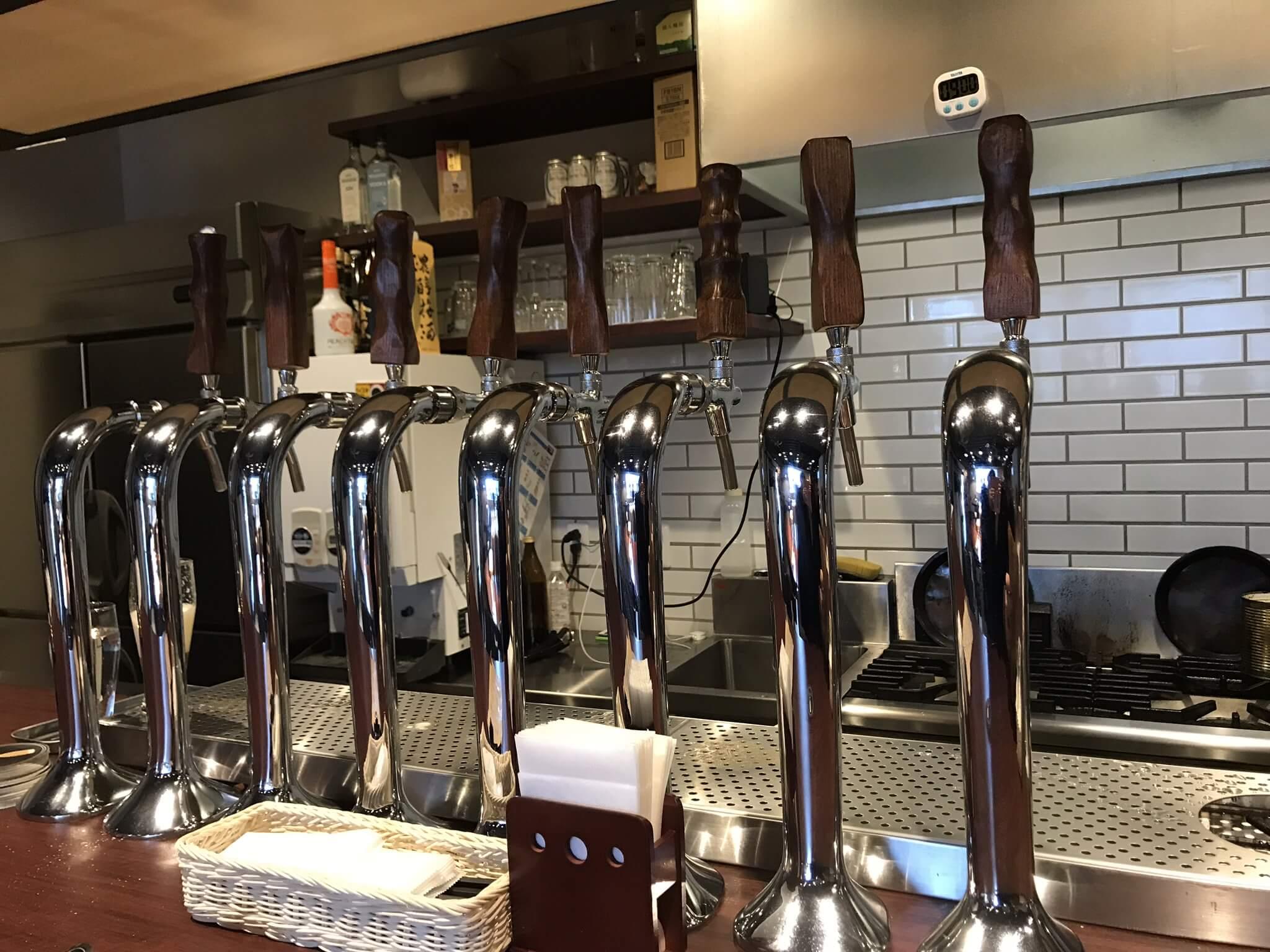 オリエンタルブルーイング 香林坊店でお得なハッピーアワーを利用してクラフトビール飲み比べ