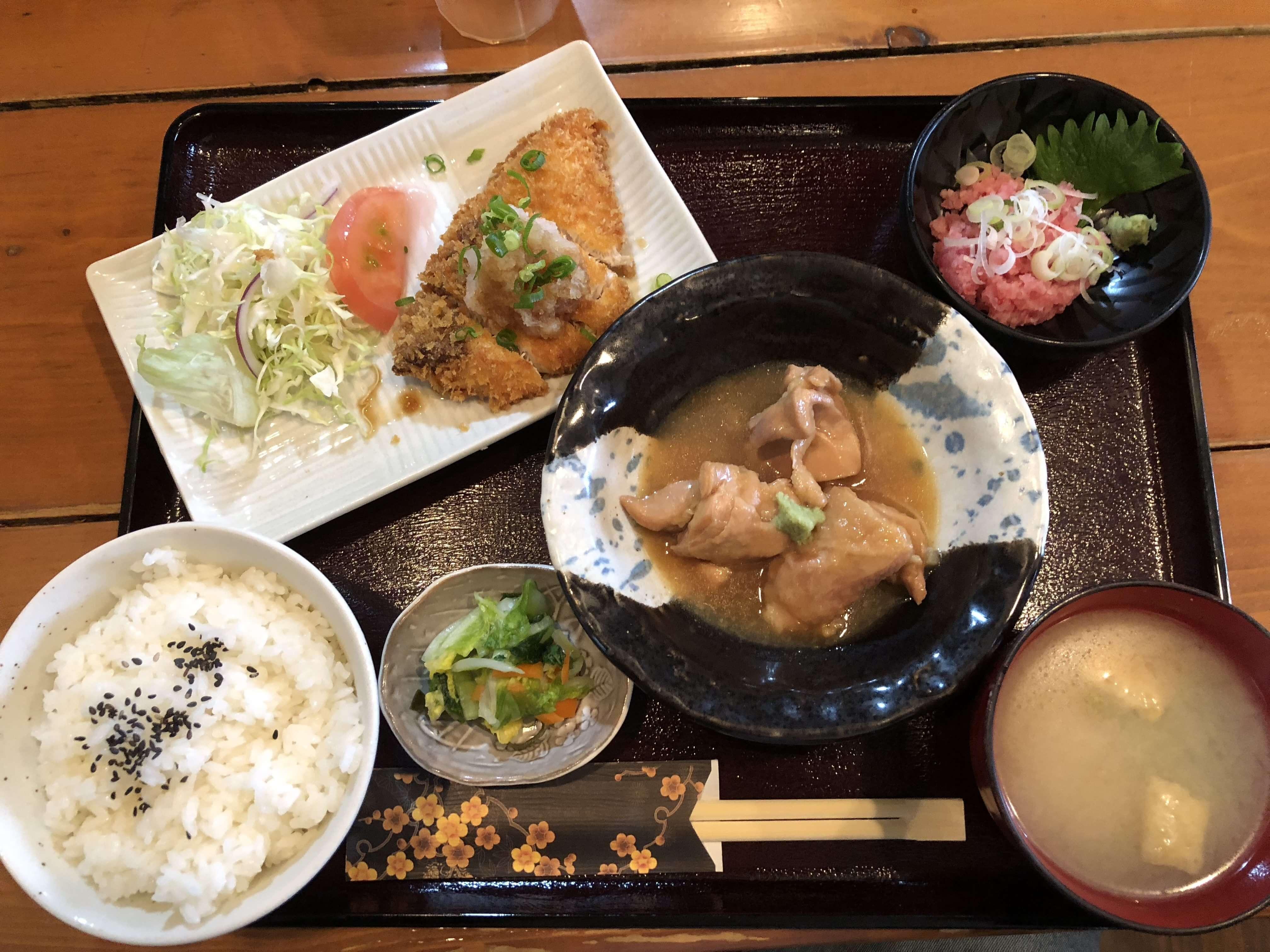 【限定20食】伏見台の居酒屋「辻谷商店」の850円定食!!
