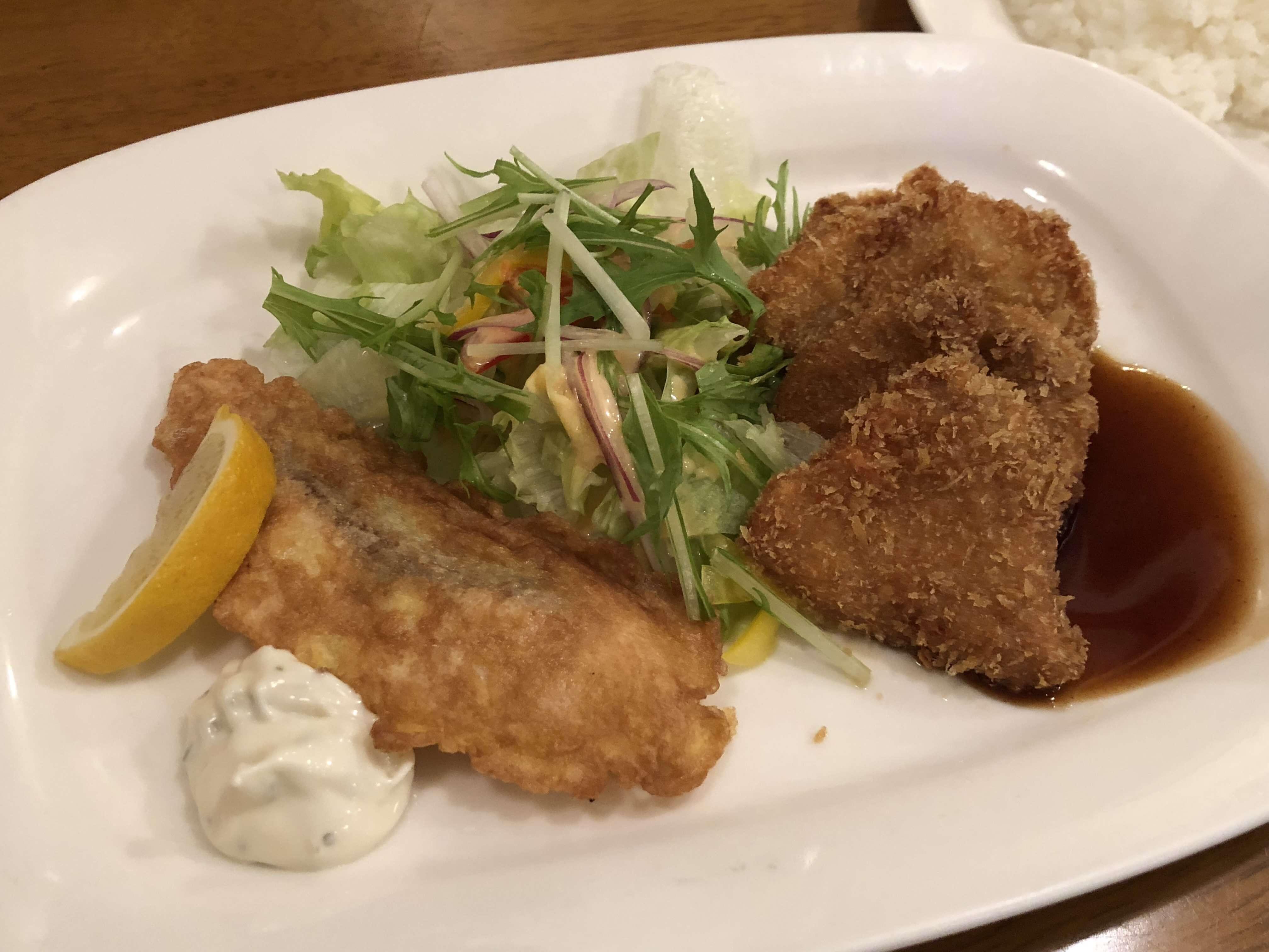 『 洋食屋たぁげっと 』老舗洋食店でお得なランチ !!