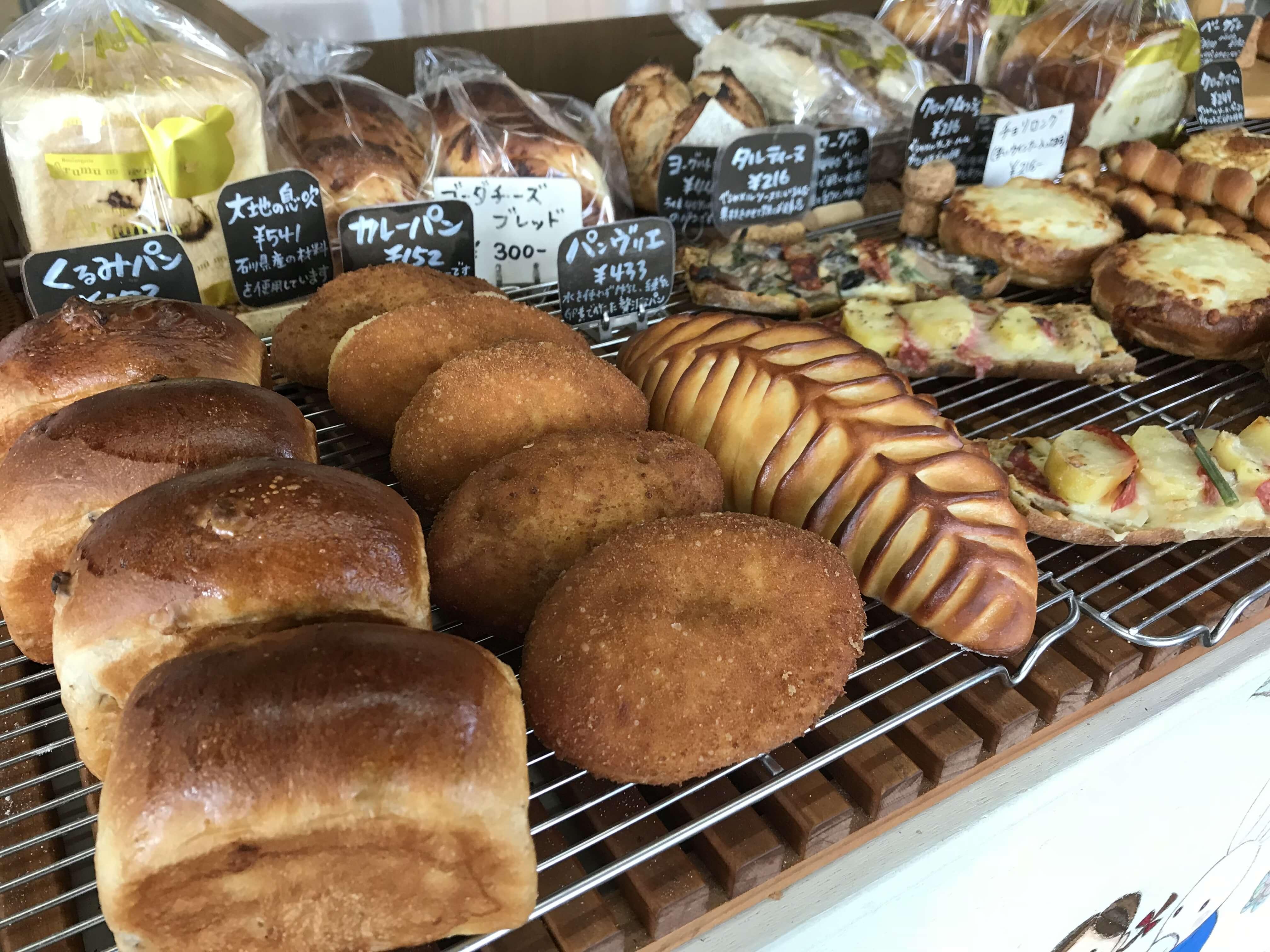 『アルムの森』国産小麦を使ったこだわりパン。ケーキ風パンや焼き菓子も!