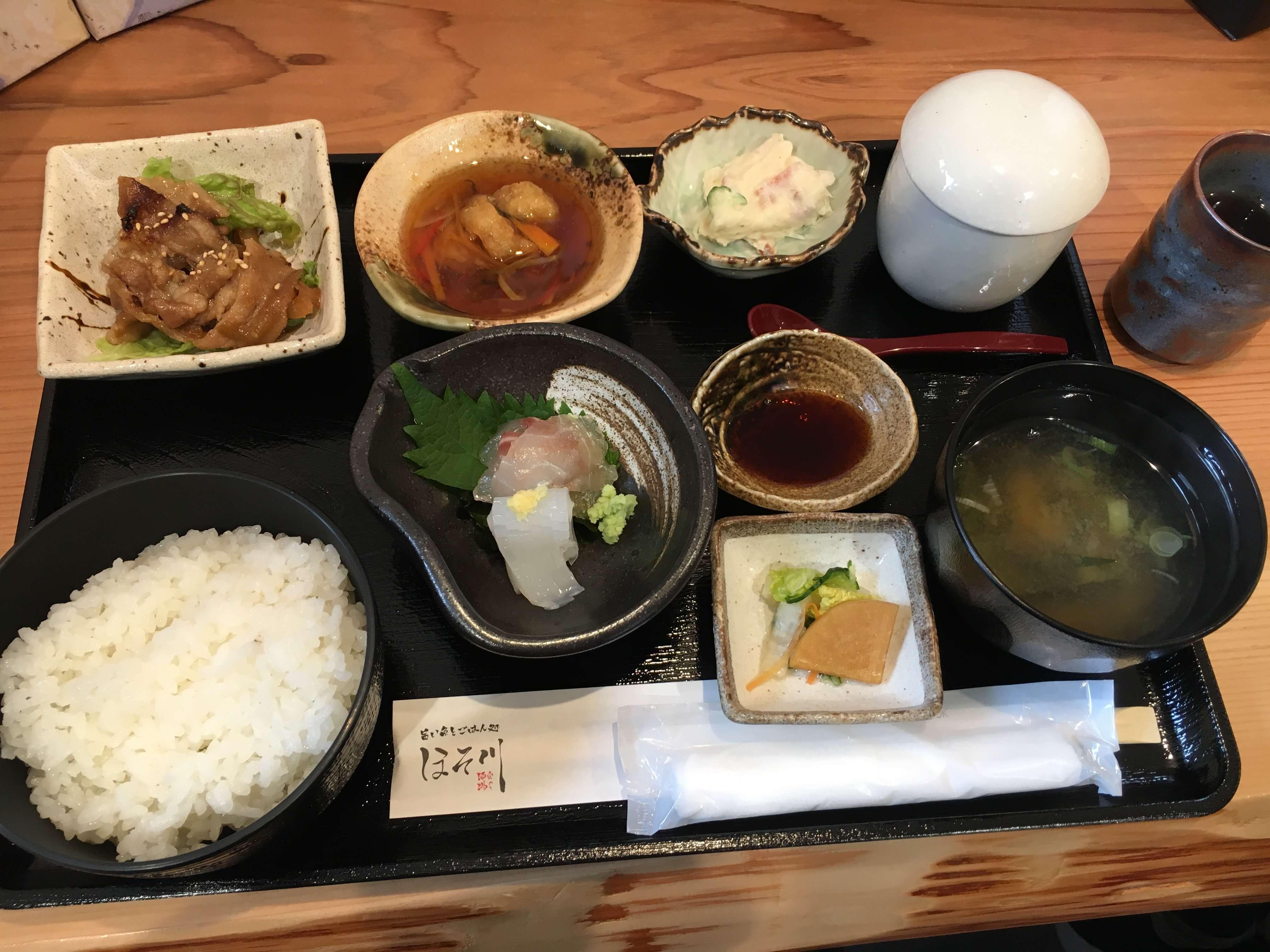 穴水に新店「 旨い魚とごはん処 奥のと酒場 ほそ川 」誕生!!
