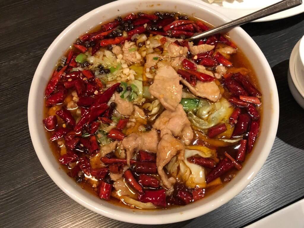 昇龍_豚肉とキャベツの辛子煮込み