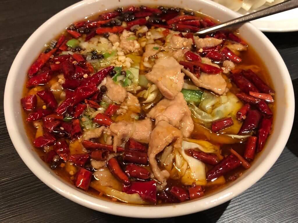 昇龍_豚肉とキャベツの辛子煮込み2