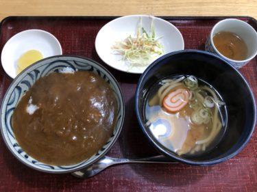 「 うどんそば処 清水 」650円のお得な定食で満足感高し!!