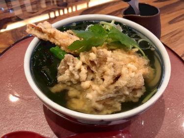 「 金澤さぬき 」迫力の天ぷらと饂飩を楽しむ郊外の人気店