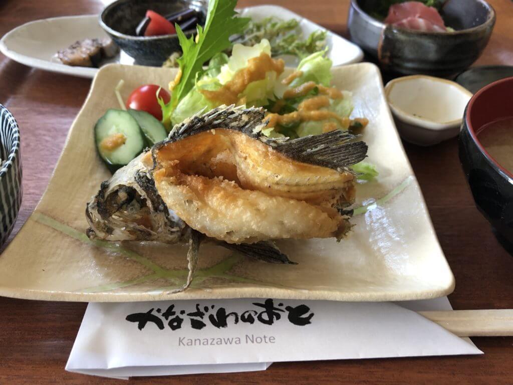 DiningBarかなざわのおと_日替り魚ランチ2