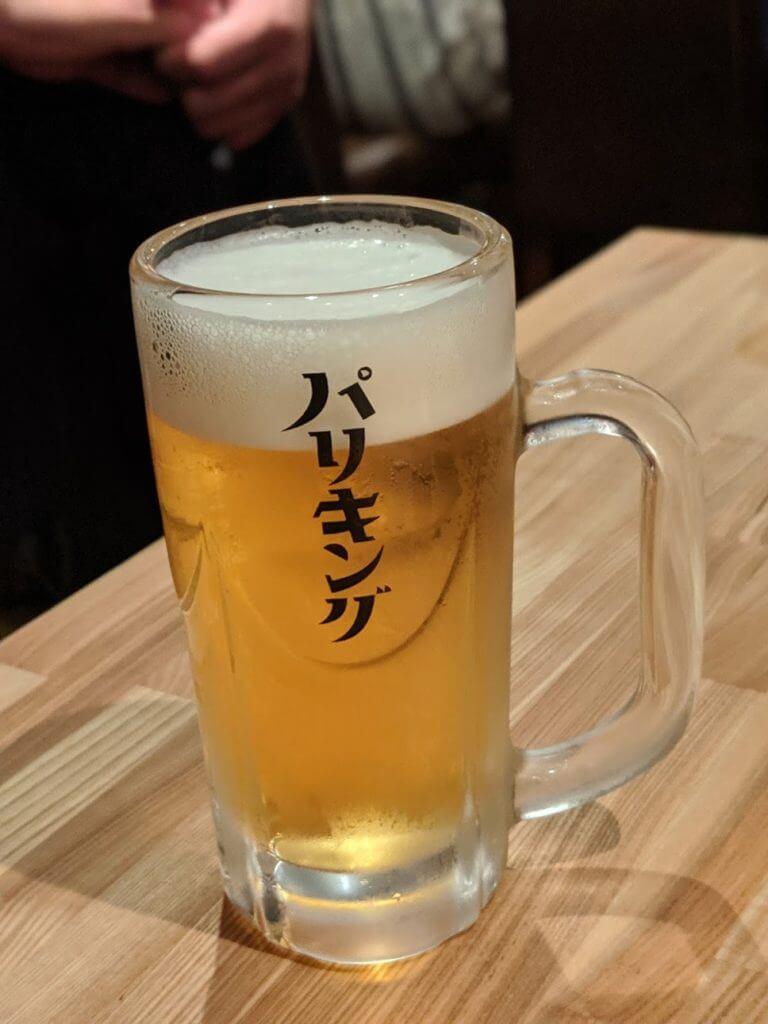 パリキング_ビール1