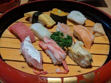 「 能登前寿司 もりもり寿し 」フォーラスで見つけたお得な廻らない寿司店