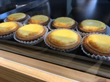 「ヤドカリチーズケーキ 金沢諸江店」ふわとろ濃厚なチーズタルト!焼きたてでも冷やしても美味しい。