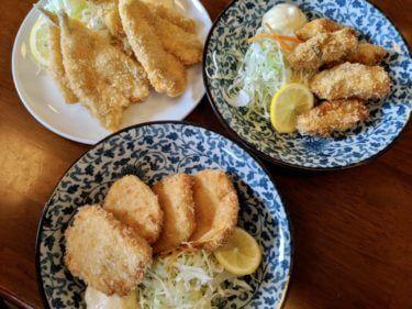 「厚生食堂」新鮮な魚介と絶品フライがオススメな超人気店