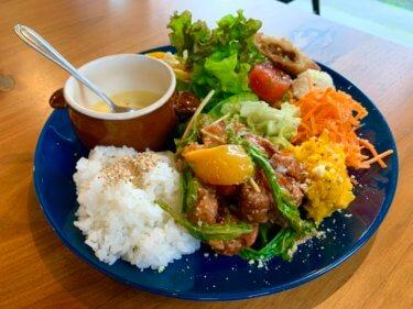 小橋カフェOTABA(オタバ)。金沢の今と昔が交差するノスタルジーな町のカフェ。オシャレな野菜ったっぷりワンプレートランチ。