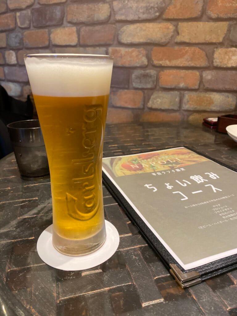 ナポリ金沢_ビール