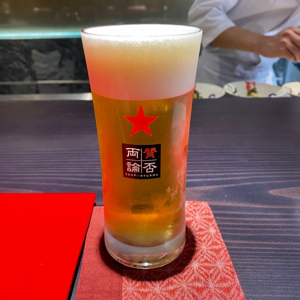 賛否両論_金沢_ビール
