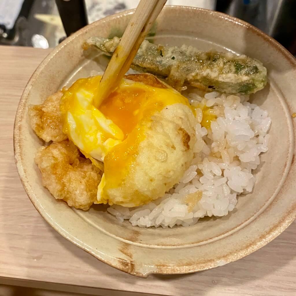 天ぷらスタンド十八番_天丼2