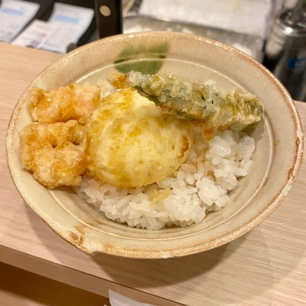 天ぷらスタンド十八番_天丼