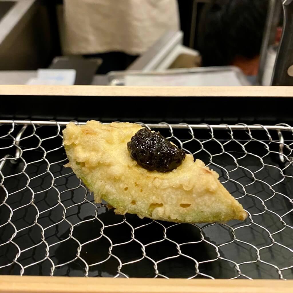 天ぷらスタンド十八番_アボカド