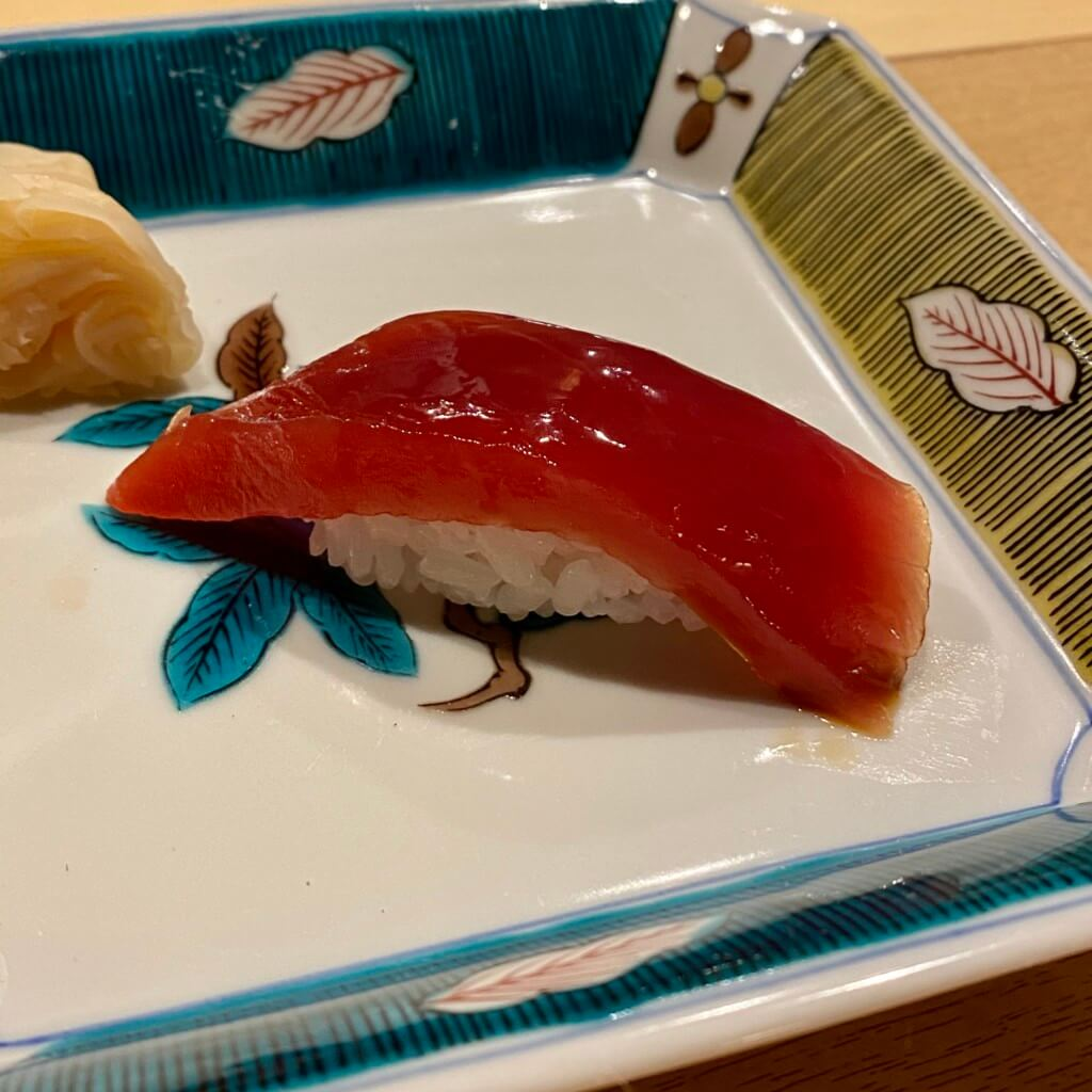 Sushi直_南マグロ漬け
