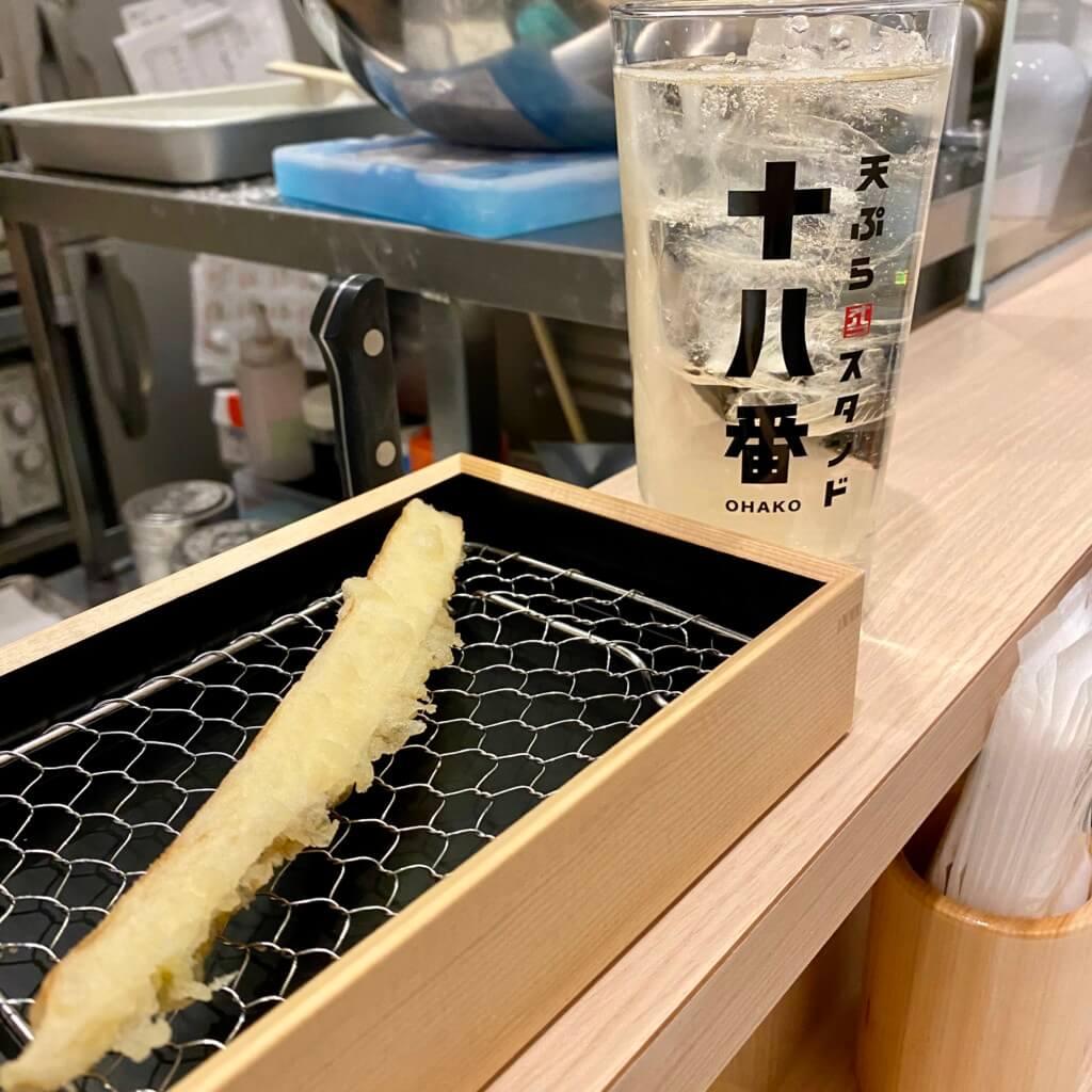 天ぷらスタンド十八番_まこもだけ