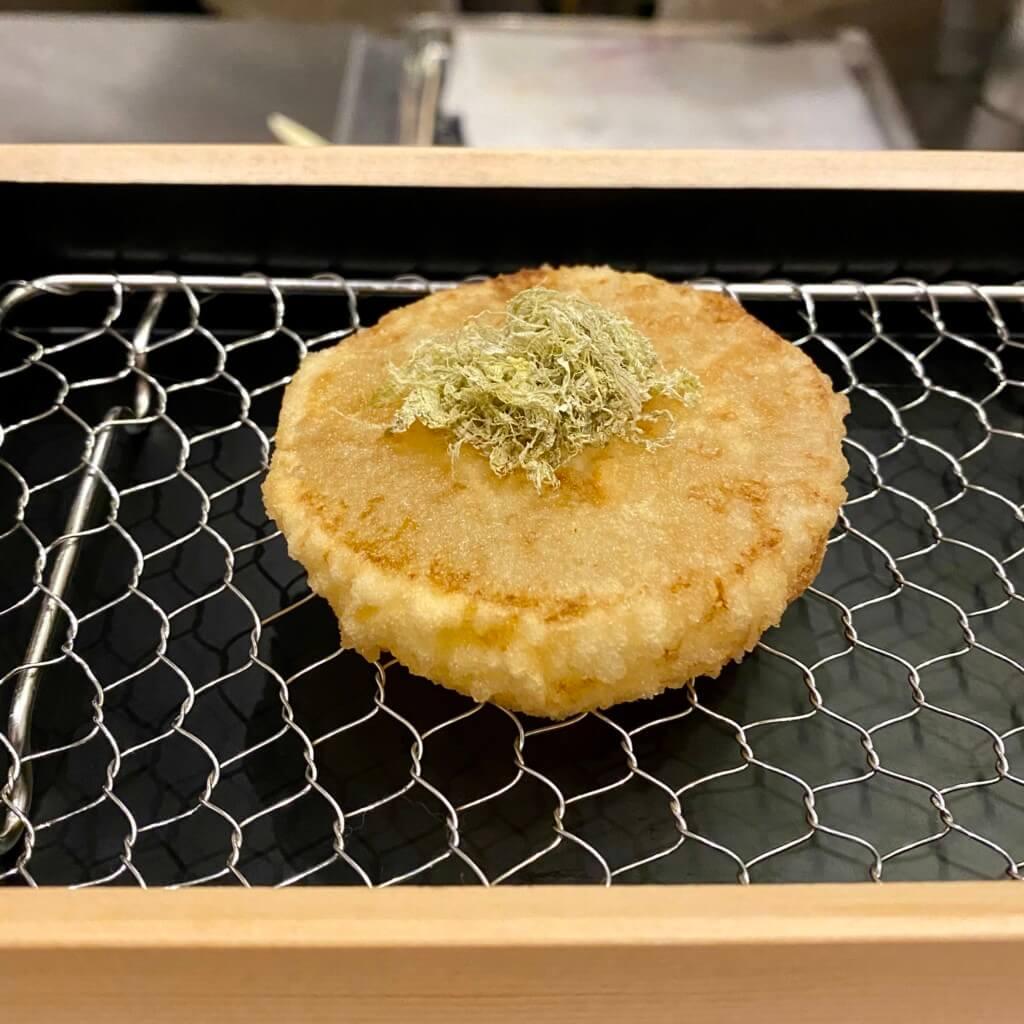 天ぷらスタンド十八番_おでん大根