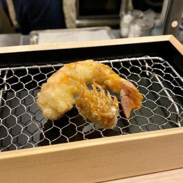 天ぷらスタンド十八番_大海老