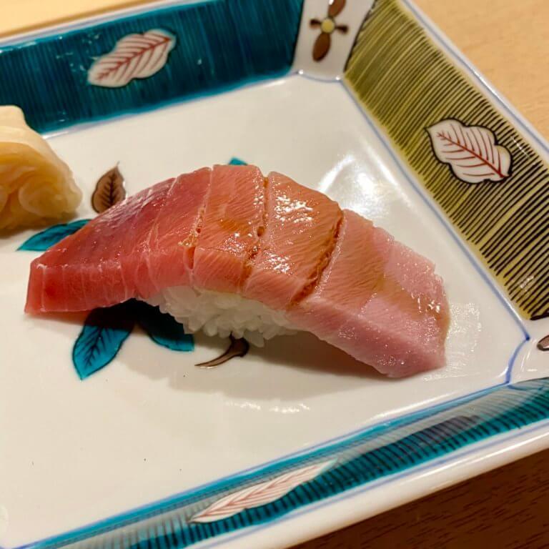 Sushi直_南マグロ中トロ