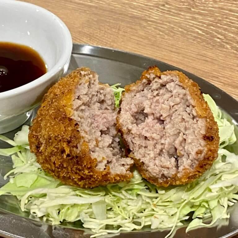 ワイン食堂オッチョ 近江町_メンチカツ