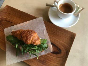 「Angolo CAFFE」金澤町家で味わう本格エスプレッソ。クロワッサンサンドも美味しい!
