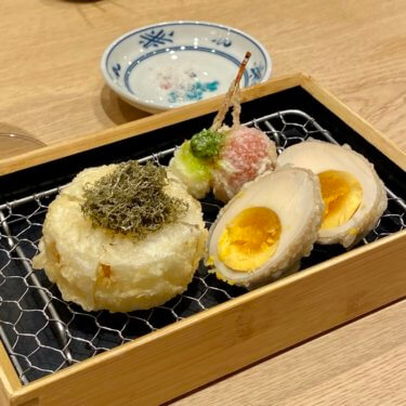 「喜久や」北陸初出店の天ぷらバルで楽しむ天シャン