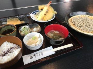 「十六文亭」石川県産蕎麦粉と加賀れんこん使用。しっかりとしたコシのこだわり蕎麦!